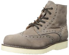 FRYE Men's Arkansas Wedge Wingtip Boot => See this awesome image  : Men's boots
