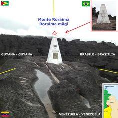 Confini amministrativi - Riigipiirid - Political borders - 国境 - 边界: 2010 BR-GY-VE Brasiilia-Guyana-Venezuela Brasile-G...