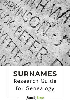 Want to know more about surnames? Follow our guide to find out where hereditary family names came from and how to learn more about your last name. Family Names, Crochet Ripple, Genealogy Research, You Lied, Surnames, Need To Know, How To Find Out, How To Plan, Learning