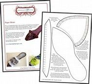 Image result for Free Paper Shoe Template