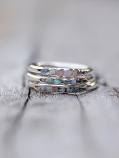 Opal Fossil Ring // Hidden Gems Flashes of colour, dripping with that zest for life that makes raindrops dance. It is so gorgeous. Opal is my favorite Jewelry Box, Jewelry Rings, Jewelery, Jewelry Accessories, Gold Jewellery, Silver Jewelry, Jewelry Stores, Girls Jewelry, Dress Jewellery