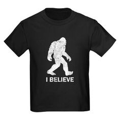 For my little Bigfoot believer :)