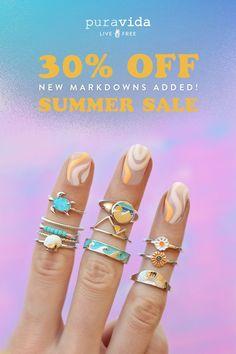 Pura Vida Bracelets, All That Glitters, Summer Sale, Sale Items, Friendship Bracelets, Beaded Necklace, Rose Gold, Jewels, Lockets