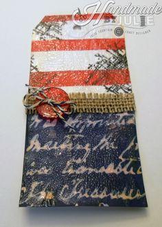 Patriotic tag   HandmadebyJulie.com