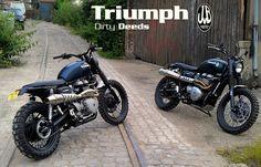 JvB Triumph Scrambler