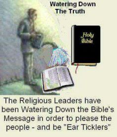 Wake up Christians! Read the Holy Bible for yourself. (Choose wisely the version, as many have been changed & watered down.) Pray that the Lord helps you to understand His word, to see the truth & gives you wisdom to understand.