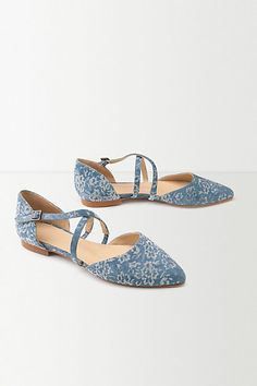 Anthropologie EU Bluebell Crossover Flats, Style No. 7314448910215