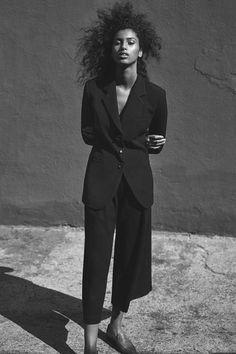Imaan Hammam photographed by Annemarieke Van Drimmelenfor WSJ Magazine May 2015