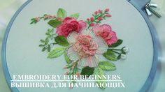 ВЫШИВКА  ЦВЕТОЧНЫЕ ШВЫ \   EMBROIDERY   Flower stitch