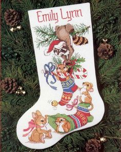 71 259 christmas stocking christmas cross cross stitch