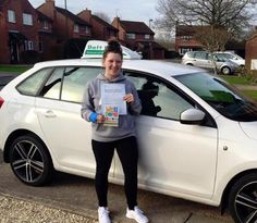 Our mad as a hatter female driving instructor, Lianne had a FIRST TIME pass this week. The really cool thing about this test pass was that the learner driver was her daughter, Caitlin. Well done for passing your driving test FIRST TIME Caitlin and even better seeing as you learnt with your mum!! Well Done!!!
