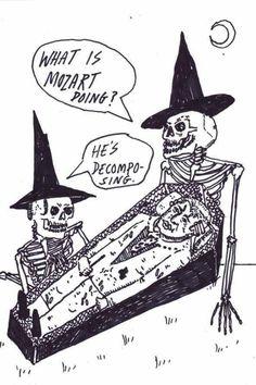 Halloween science comic for grade six