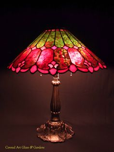 Conrad Art Glass: My stained glass lamp work. Conrad Art Glass: My stained glass lamp work. Stained Glass Designs, Stained Glass Projects, Stained Glass Art, Mosaic Glass, Fused Glass, Stained Glass Windows, Stained Glass Lamp Shades, Tiffany Stained Glass, Tiffany Glass