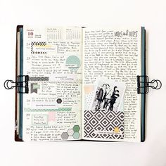 Week 43 in my traveler's notebook using @theresetgirl 's @carpediemplanners collection!
