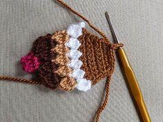crochet magnet, kitchen, home decor