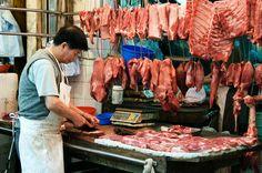 chinese butcher shop hong kong | Hong Kong's Best Wet Markets: Bowrington Road