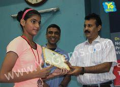 Congratulations Sonali Singh for recieving runner-up award in Girls Singles U15 YoGems Badminton Championship series,Noida.