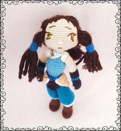 Crochet Pattern Avatar Korra Amigurumi Pdf - This is a Crochet Pattern Avatar Korra Amigurumi - pdf file . Size is approximately 25 cm. Supplies: The pattern uses hook and Microfiber Acrylic yarn. Video Game Characters, Korra, Ravelry, Avatar, Crochet Patterns, Crochet Hats, Dolls, Pdf, Movie