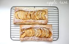 Quick and easy apple tart from Pioneer Woman. Drizzle top with warm ...