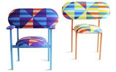 Textiles by David David Design.