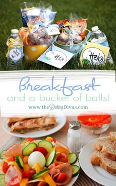 Enjoy a morning date with breakfast and a bucket of balls. Every golf enthusiast will love this simple and fun date. www.TheDatingDivas.com #datenight #dateidea #thedatingdivas