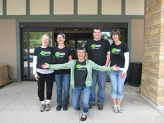 The Viroqua Food Co-op staff is such a fun crew. The co-op is your 2014 Local Hero Award winner in the Food Shop category. Click to read more! (Photo courtesy of Viroqua Food Co-op.)