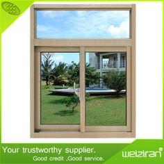 Design Aluminium Alloy Horizontal Sliding Sash Glass Window on Made-in-China.com