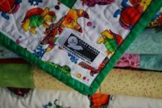 Binky Patrol makes blankets for charity. A remarkable organization.