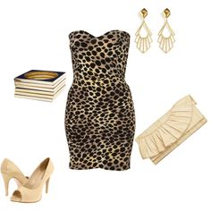 animal print, created by v-m-f.polyvore.com