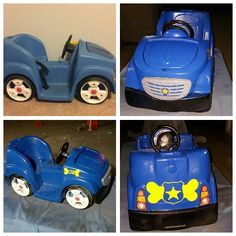 Upcycled This Step 2 Car Into A Paw Patrol Custom I Chose Chases Police