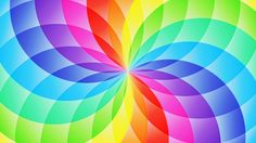 Abstract design, circle sector, flower, rainbow wallpaper 2560x1440 Great for Paper Breads