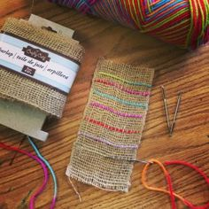 I found my new favorite beginner weaving project that takes very little prep work, is inexpensive, and still makes a very pretty little work of art. The best part? It kept two very talky 4th grade cla