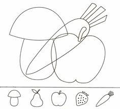 A Kindergarten Math Worksheets, Preschool Learning Activities, Free Preschool, Autumn Activities, Visual Perception Activities, Pseudo Science, Montessori Art, Dora, Hidden Pictures