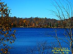 Lovely Autumn Morning of Duck Lake Orrville Ontario