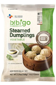 Bibigo Steamed Vegetable Dumplings