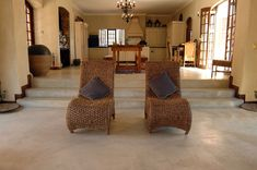 Since 1973 Cemcrete has developed a range of cement-based products that can truly claim to be the best that Africa has to offer. Floor Design, Concrete Floors, Cement, Floor Chair, Armchair, New Homes, Colours, Flooring, Rustic