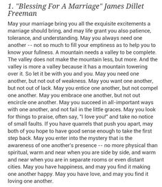 blessing for a marriage by james dillet freeman - Google Search More
