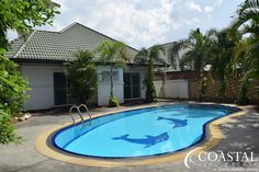H009488  Spacious house for sale at Greenfield Villas 3, located on Siam Country Club Road. Very easy access to main road and close to local amenities.
