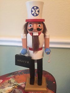 CLICK HERE TO PURCHASE from CustomNutcrackers.com. Get this unique EMT…