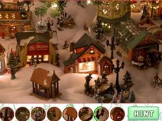 Christmas Village #OnlineGames #HiddenObject #Christmas