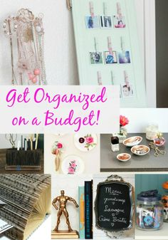 Get your home organized with thrift store finds.