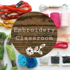 I meet so many people who say they would love to give embroidery a go but think they wouldn't be capable. My aim is to encourage wholeheartedly :) and so along side the kits I have an 'Embroidery Classroom' section in my website where I share lots of gentle hand holding tutorials and info should that extra help be required.