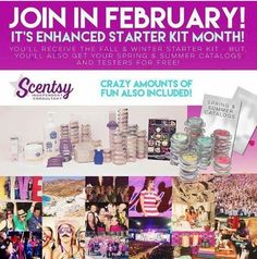 February is the perfect month to start your Scentsy journey! Contact me for more info! reneepscentsy@gmail.com