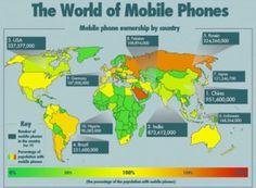 cellulari nel mondo