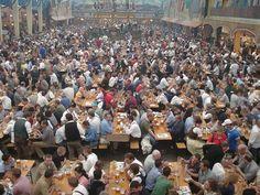 OKTOBERFEST 2011 - THE HOT MILKMAIDS AND BLONDE BEER STEIN SERVERS - DRINKING - TOTING MUGS - GETTING DRUNK!