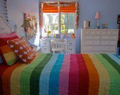 Rainbow Unicorn Pillow Case. Unicorn Bedroom accessories. Rainbow ...