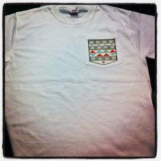 Aztec Tee, my first design