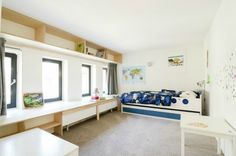 Un perfecto loft duplex ubicado en una antigua escuela.