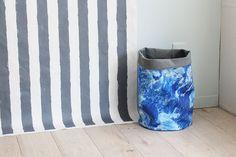 お気に入りの布で作りたい!ファブリックバスケットの作り方 Interior, Fabric, Pattern, Crafts, Decor, Dressmaking, Tejido, Tela, Manualidades