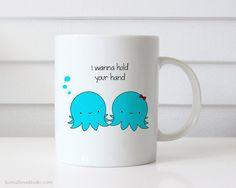 Christmas Gift For Girlfriend Boyfriend Funny Mug Octopus Pun Wife Husband I Love You Cute Anniversary Birthday Gifts Coffee Mugs Her Him